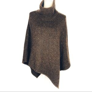Joie Cashmere Haesel C Speckled Poncho Size M / L